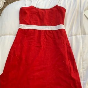 Red brandy Melville dress